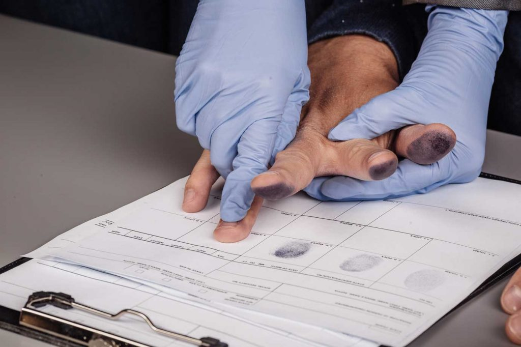 Getting Fingerprinted Two